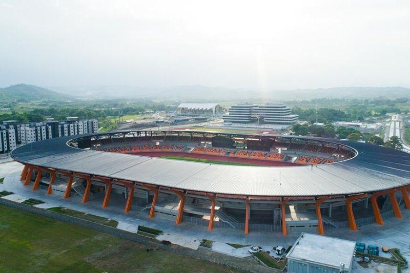 CLARK FREEPORT. New Clark City Stadium (BCDA photo)