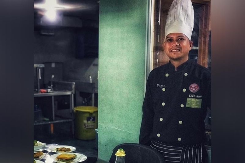Chef Henry Tejamo (Photo by Henry Tejamo)