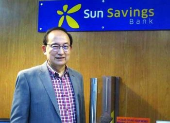 FUELING MSMES GROWTH. Sun Savings Bank president and chief executive officer Francisco Dizon says the bank is bullish on the growth of the micro, small and medium enterprises, especially in Cebu's trading area—the Carbon market. Dizon says the bank is looking at expanding its MSME loan portfolio by 25 percent in the next five years. (SunStar photo / Allan Cuizon)