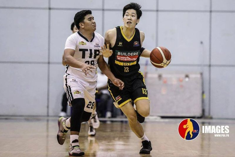 Zachy Huang scored 10 points and grabbed five rebounds to help UST notch its second win in a row. / PBA D-League