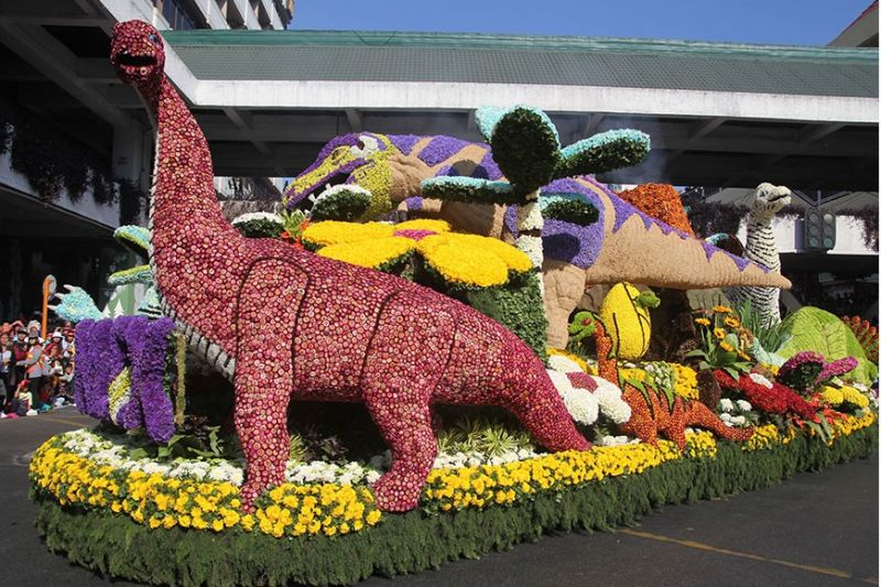BAGUIO. Flower bedecked floats will no longer parade Session Road as the city government together with the Baguio Flower Festival Foundation Incorporation canceled Panagbenga Festival amid threat on Covid–19. (SunStar Baguio file photo)