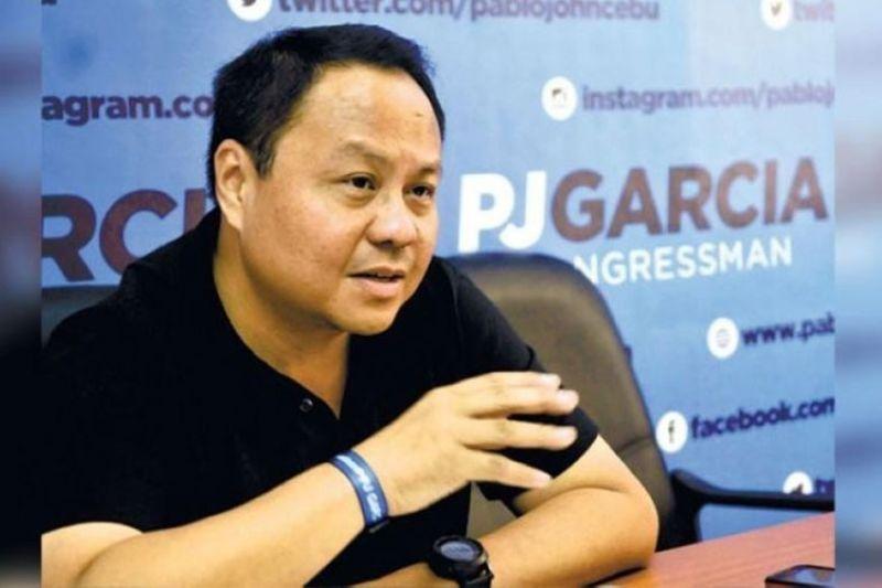 CEBU. Deputy Speaker Pablo John Garcia. (File Photo)