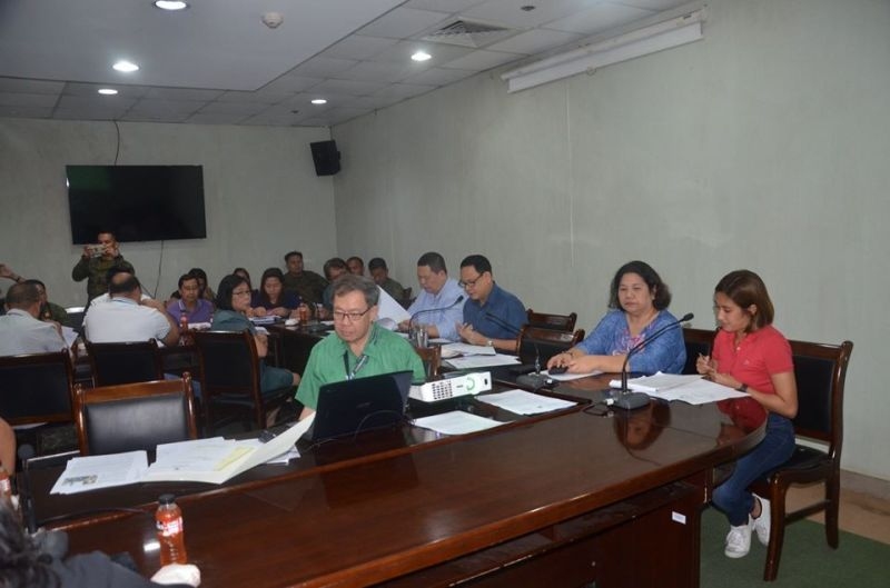 ILOILO. Governor Arthur Defensor Jr. convenes the Provincial Disaster Risk Reduction and Management Council on March 11, 2020 to intensify and coordinate efforts against the spread of Covid-19 following President Rodrigo Duterte's issuance of Proclamation 922