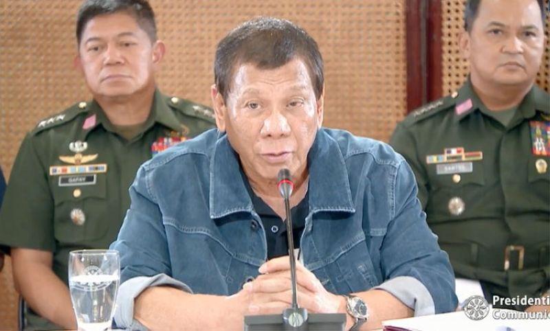 MANILA. President Rodrigo Duterte places the entire Metro Manila under