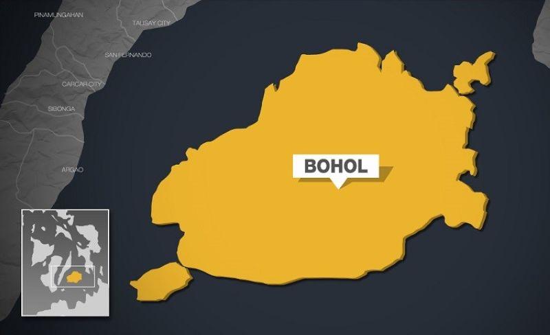 Bohol map.