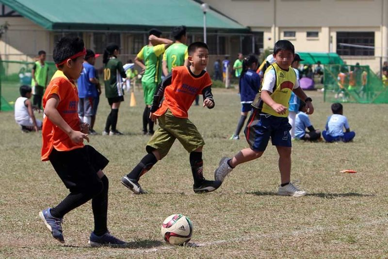 ON THE BRINK. Even football clinics slated in Baguio and Benguet this summer are on the brink of cancellation following the Covid – 19 scare in the country. Photo by Roderick Osis