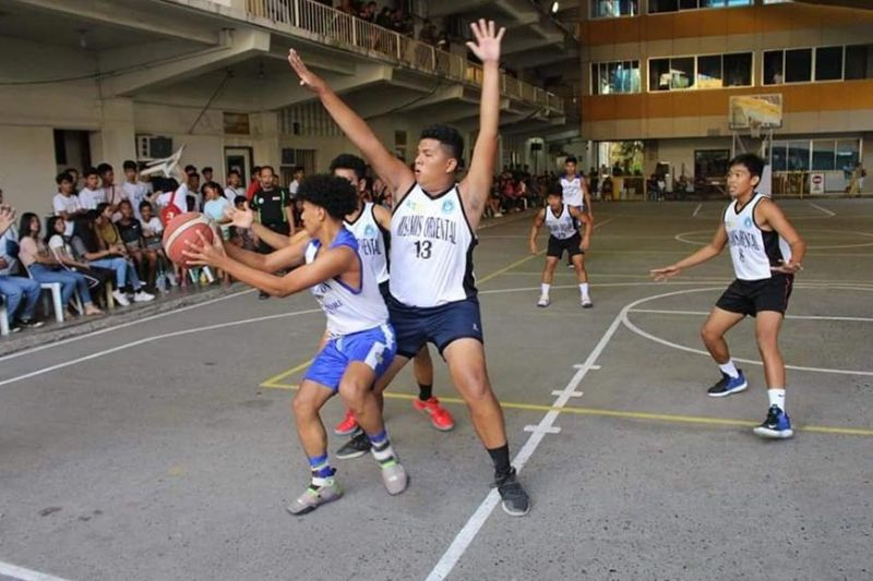MOGCHS' imposing height advantage propels the 17-under Cavaliers to back-to-back title win in the LGU-DepEd and Inter-Public basketball tournaments in Cagayan de Oro City. (Contributed Photo)