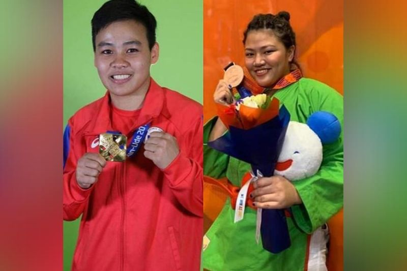 DAVAO. Davao athletes Nesthy Alcayde Petecio and Sydney Sy Tancontian are currently on self-quarantine since the former recently came from an Olympic qualifying tournament in Jordan, while the latter arrived from Covid-19-infected Metro Manila. (Contributed photo)
