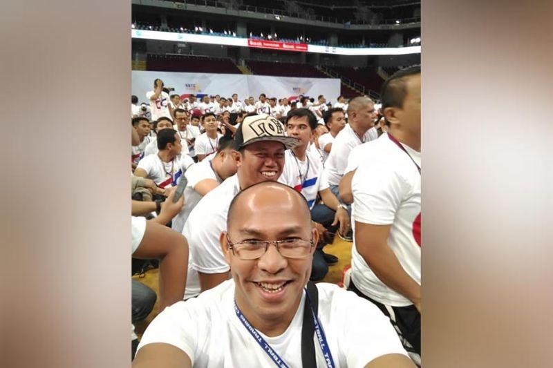 CAGAYAN DE ORO. Sacred Heart Baby Saints coach Albert