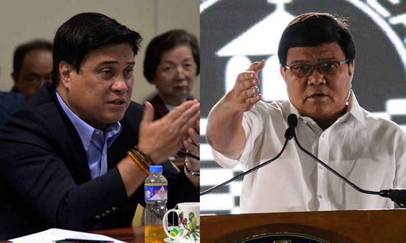 CEBU. Senate Majority Leader Juan Miguel Zubiri (left) and Cebu City Mayor Edgardo Labella. (File photos)