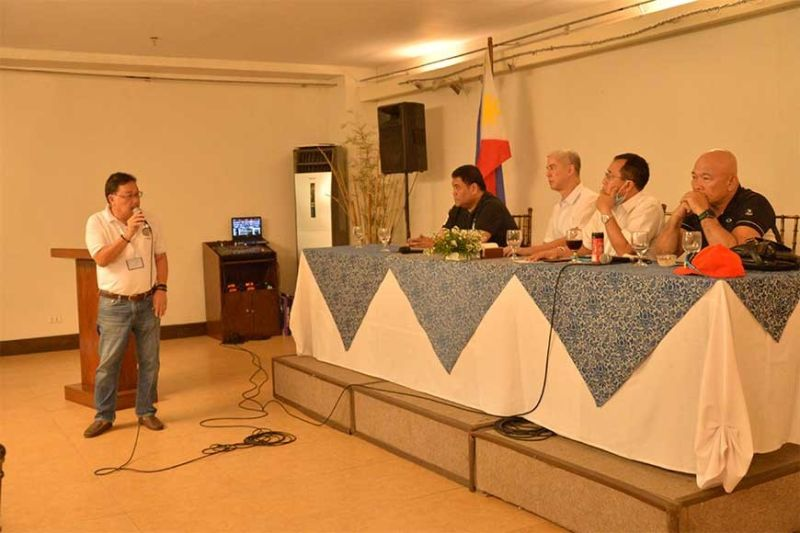 NEGROS OCCIDENTAL. Negros Occidental Governor Bong Lacson (center), Vice Governor Jeffrey Ferrer, and the city and municipal mayors of the province unanimously agree to cancel this year's Panaad sa Negros Festival scheduled on April 20-26, 2020 due to the Covid-19 threat. (Contributed photo)