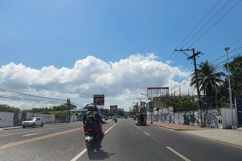BACOLOD. Bacolod streets are quite empty due to the community quarantine enforced by the local government as a preventive measure against the possible spread of Covid-19 in the community. (Carla N. Cañet)