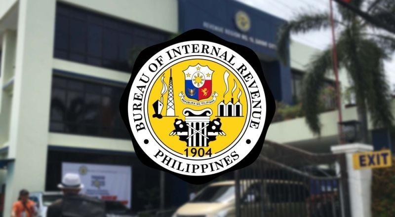 Bureau of Internal Revenue seal.
