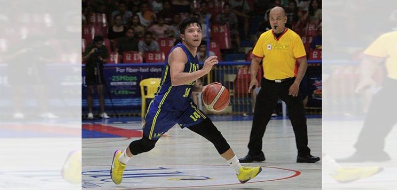 Former Cesafi Mythical Five member Darrell Shane Menina says he is just playing in his backyard to try and maintain his physical condition until games can be resumed.  (Cesafi Media Bureau)