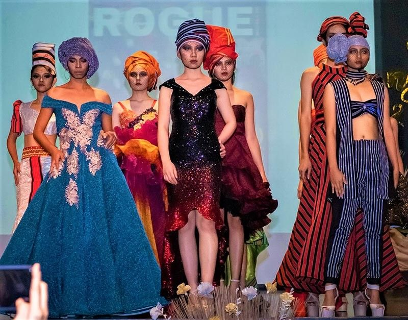 Rogue's Fashion in Bloom. (Photo by Mel Bernardez)