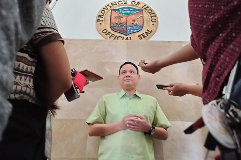 ILOILO. Governor Arthur Defensor Jr. (Photo by Leo Solinap)