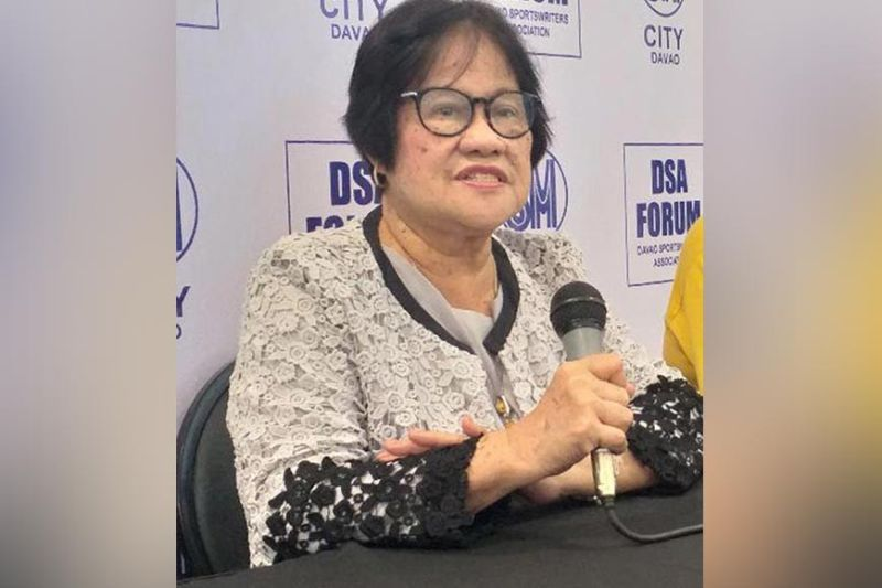 DAVAO. File photo, Ma. Lita Montalban confirms that the National Prisaa Games 2020 set in Tuguegarao in April will be cancelled. Yet, the host the province will still be the venue of the Games slated April in 2021. (Marianne L. Saberon-Abalayan)