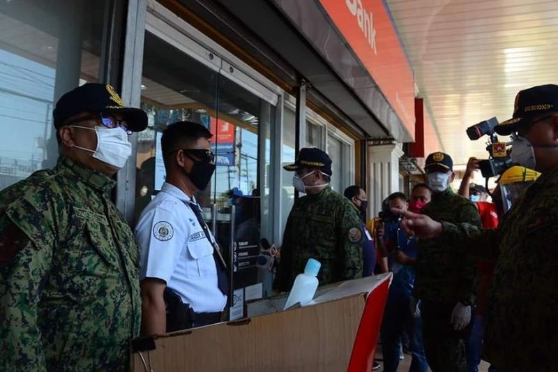 The Central Luzon police has been doubling its efforts to prevent possible cases of looting and burglary as enhanced community quarantine remains in effect. (Contributed photo)
