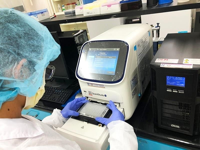 DAVAO. A study by a UP-Mindanao bioinformatics expert showed that carriers of Covid-19 in Davao Region could reach 3,000. However, this can be prevented if the government can step up its testing methods; hence, UP-Mindanao is suggesting a solution. (Contributed by UP Mindanao)