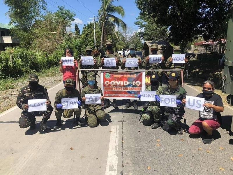 PAMPANGA. Air Force, Army and Naval units under the Northern Luzon Command in Ilocos Region, Cagayan Valley, Central Luzon, and Cordillera currently provide the needed logistical support in the fight against coronavirus disease.---Contributed photo