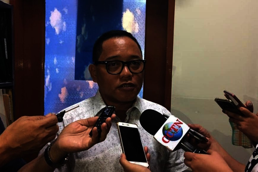 Cebu City Councilor Dave Tumulak (File photo)