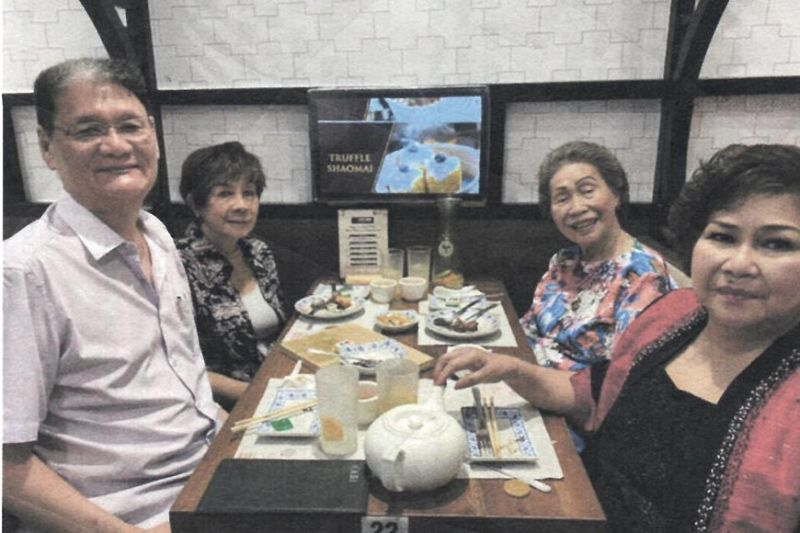 "WITH MEDIA. Harbour City Group vice president Edward ""Sonny"" Kokseng, Chinggay Utzurrum, Flor Ynclino and chairman of the Board Helen Uytengsu."