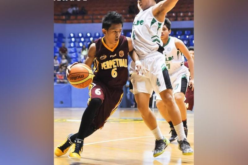 FATHER FIGURE: Before he became the Cebu Schools Athletic Foundation Inc. MVP, Shaquille Imperial suited up for the Perpetual Help Altas under Aric del Rosario, who passed away on Thursday. Imperial said he was more than a coach to his players. (Contributed Photo)