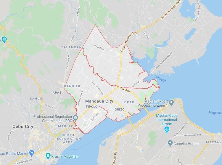 Mandaue City, Cebu. (Google Maps)