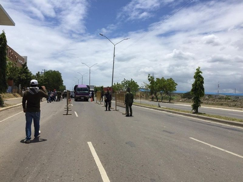 CEBU. The Environmental Management Bureau-Central Visayas has noted a 40 to 50 percent drop in air pollution in Talisay City amid the stringent measures Cebu is undertaking to combat the spread of the coronavirus disease. (Photo by Jerra Mae Librea)