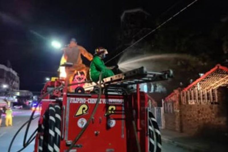 DUMAGUETE. The Filipino-Chinese Volunteer Fire Brigade is helping the Dumaguete City Government in the disinfection of establishments, streets and public places amid the Covid-19 threat to prevent community transmission. Mayor Felipe Antonio Remollo said the disinfection will continue until the Covid-19 pandemic is eliminated. (PNA)