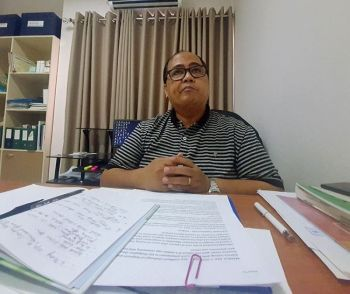 ILOILO. Dr. Cornelio Cuachon of the Provincial Health Office said on Friday afternoon, March 27, that all of the three Covid-19 patients in Aklan were in stable condition. (Photo by Jun Aguirre)