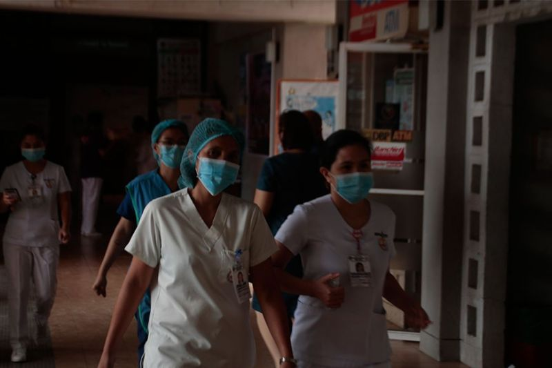 In this health war, medical frontliners serve as our soldiers and first line of defense. (Photo by Ace Perez)