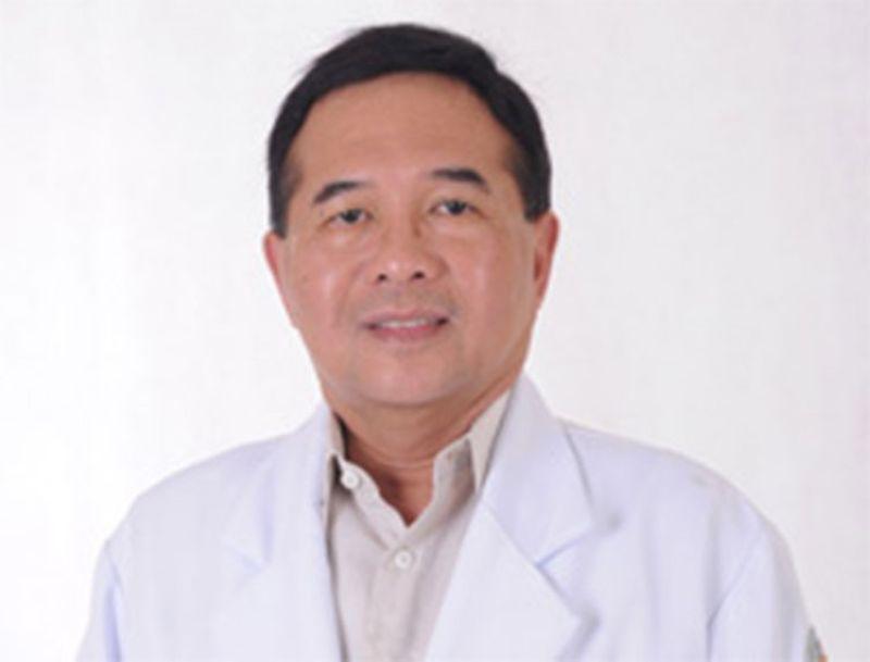 CEBU. Dr. Dennis Tudtud (Photo from Chong Hua Hospital's website)