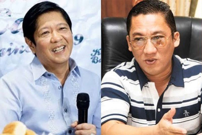 MANILA. Former senator Bongbong Marcos (left) and Mandaue City Mayor Jonas Cortes. (SunStar File)