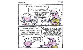 Comic strip by Josua Cabrera