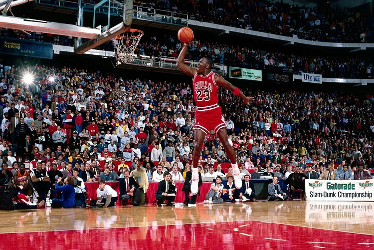 Michael Jordan. (Photo courtesy of NBA.com)