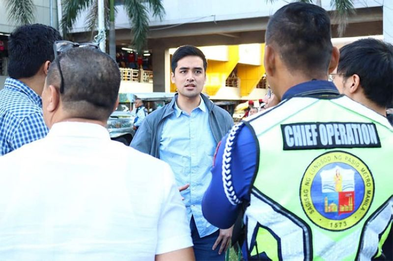 Photo from Mayor Vico Sotto's Facebook page