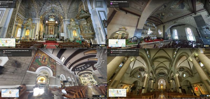 Images from Google Street View