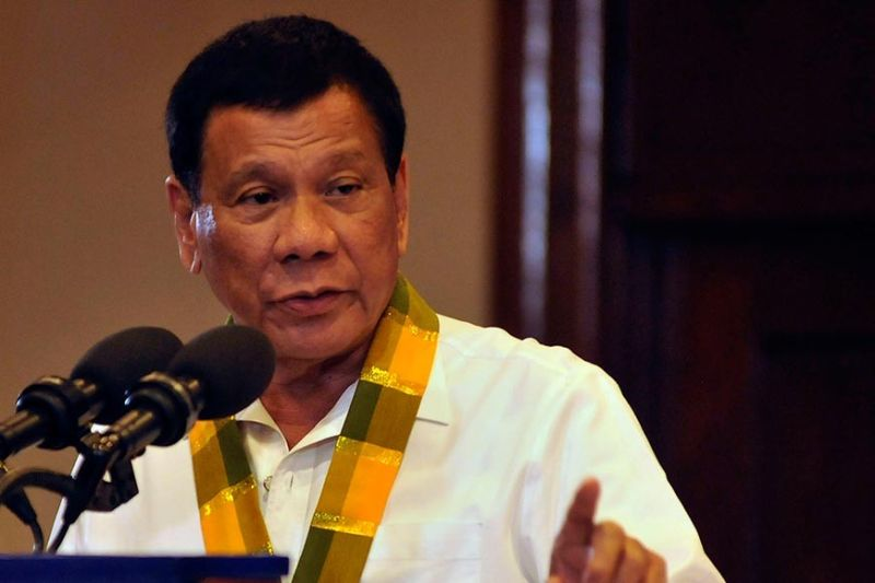 President Rodrigo Duterte. (SunStar file photo)
