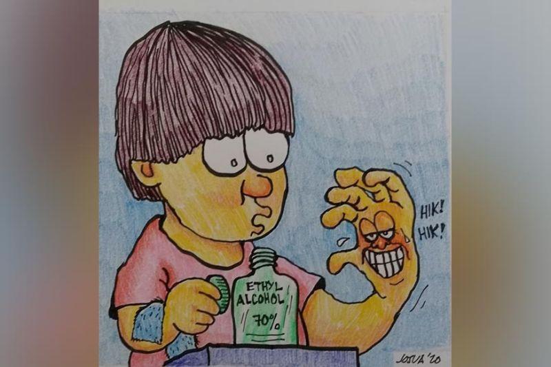 Cartoon by Josua Cabrera