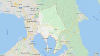 Map of Rizal province (Google Maps)