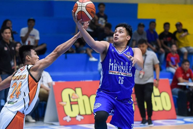 CEBU'S FAVORITE. Former Southwestern University-Phinma guard Macmac Tallo, who has played for Manila and Bacolod in the MPBL, is the top choice for point guard in an ideal all-Cebuano squad. (Contributed Photo)