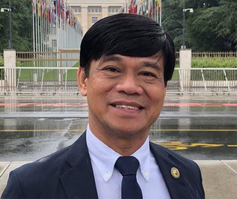 CEBU. Cebu City Representative Rodrigo Abellanosa. (Photo from Abellanosa's Facebook account)