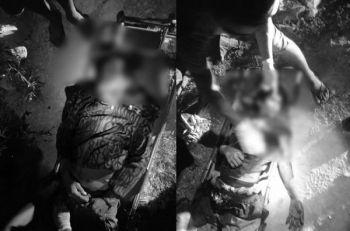 CEBU. Most Wanted ug kauban niini patay atol sa engkwentro sa kapulisan sa Sitio Latasan, Barangay Labogon, Mandaue City alas 8:50 sa gabii sa Dominggo, Abril 5, 2020. (Tampo nga hulagway)