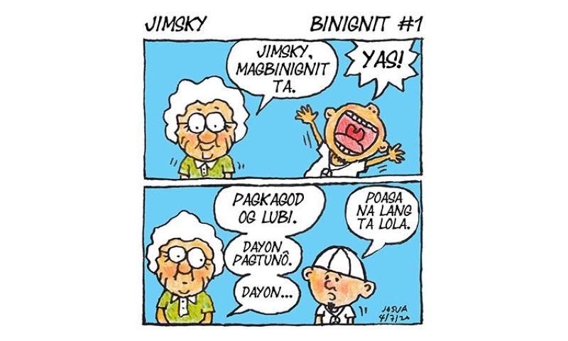 Comic strip by Josua Cabrera