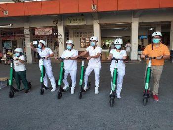 Photo by SPMC chief of clinics Dr. Ricardo Audan onerror=