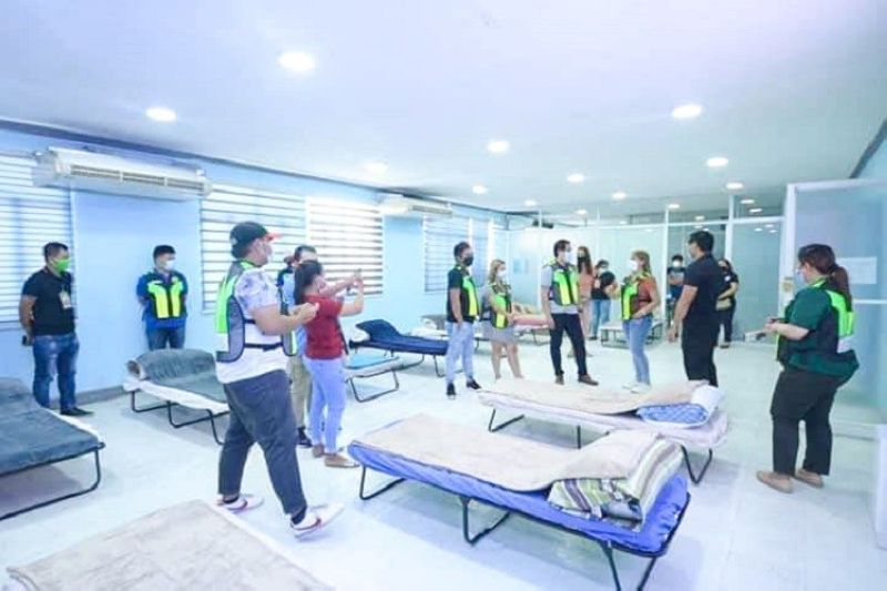 CEBU. The Land Transportation Office-Central Visayas has offered sleeping quarters for frontlline healthworkers of the Cebu City Medical Center amid the implementation of the enhanced community quarantine (ECQ) in Cebu. (Contributed photo)