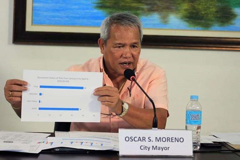 CAGAYAN DE ORO. Mayor Oscar Moreno. (Photo courtesy of City Information Office)