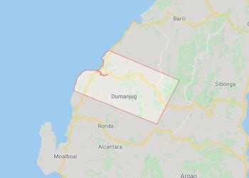 Mapa sa Dumanjug, Cebu. (Google Maps)