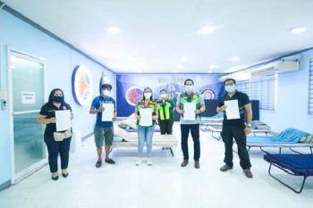 CEBU. Hingpit nang gi-turn over sa Land Transportation Office (LTO)-Central Visayas ang Malasakit Lounge ngato sa Cebu City Medical Center aron magamit isip temporaryo nga quarters sa mga medical staff niini. (Tampo nga hulagway)